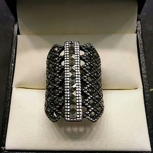 .50ctw Genuine Marcasite 316L Stainless Steel